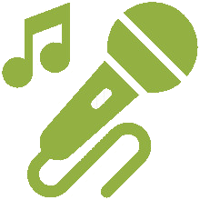 Animacion musica y luces
